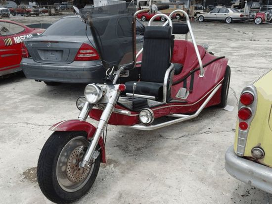 Trike VW (with trailer)