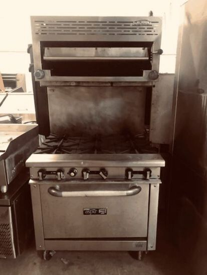 Large Absolute Restaurant Equip. Auction