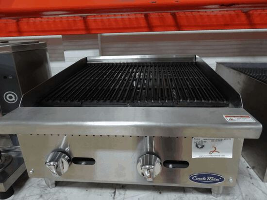 """NEW 24"""" Cook Rite Radiant Char-Broiler"""