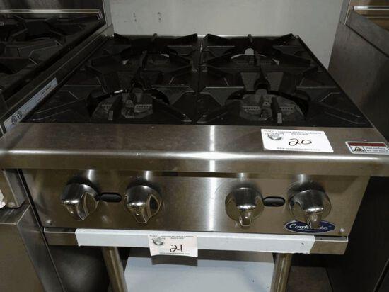 NEW Cook Rite 4 Burner C/T Range
