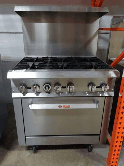 NEW Ikon 6 Burner Range w/ Oven
