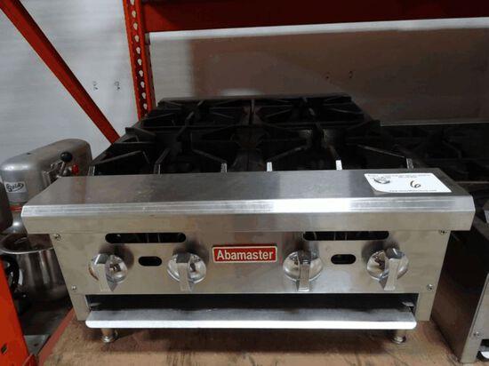 NEW Abamaster 4 Burner C/T Range