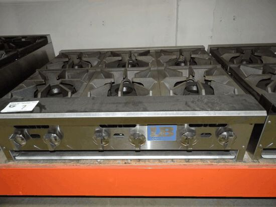 NEW L&B 6 Burner C/T Range