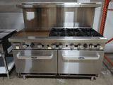 New Cook Rite 6Burner w/ 24