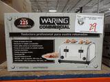 New Waring Commercial 4 Hole Toaster