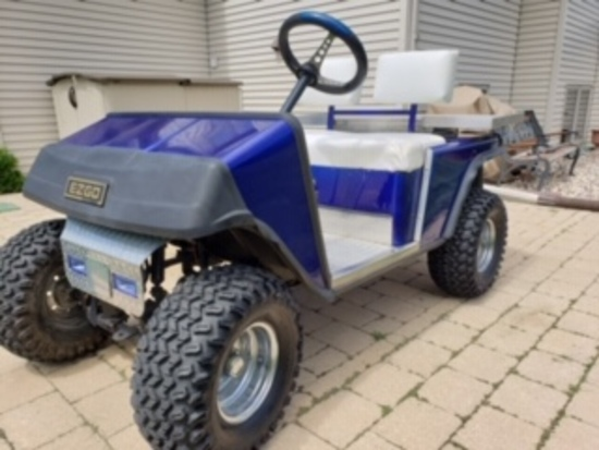EZ Golf Lifted Golf Cart