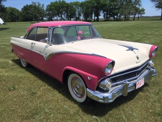 1955 Ford Victoria 2 Door