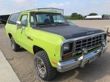 1982 Dodge Ram Charger