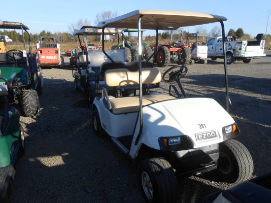 EZ GO GOLF CART W/ REAR SEAT & CHARGER
