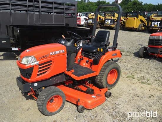 KUBOTA BX 2360 TRACTOR ROPS, 4WD, HYD DRIVE, PS, DSL, W/ 60