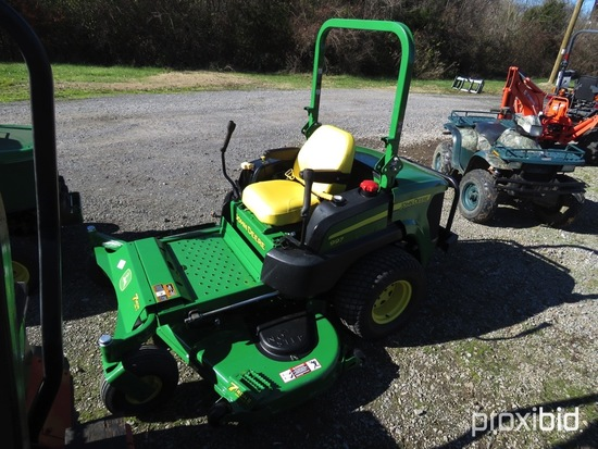 "JOHN DEERE 997 ZERO TURN MOWER DSL, 72"" DECK, 3047 HOURS"