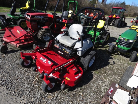"EXMARK LAZER Z MOWER 25HP KOHLER COMMAND ENGINE, 60"" ULTRA CUT DECK, ROPS, SERIAL #729320, SHOWING 3"