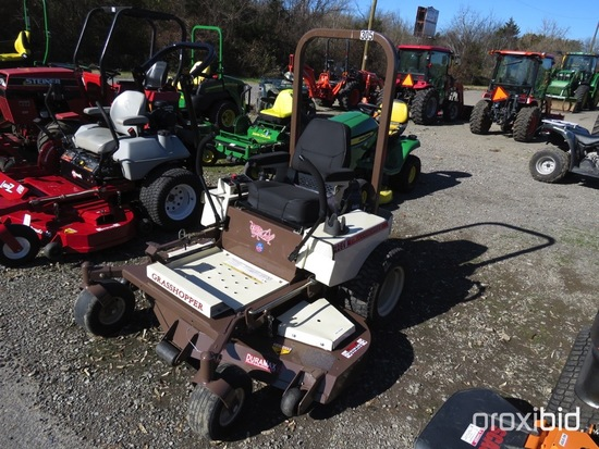 "GRASSHOPPER 226V MOWER 26HP ENGINE, 61"" CUT DURAMAX DECK, ROPS, SERIAL #6510974, SHOWING 272HRS, TAG"