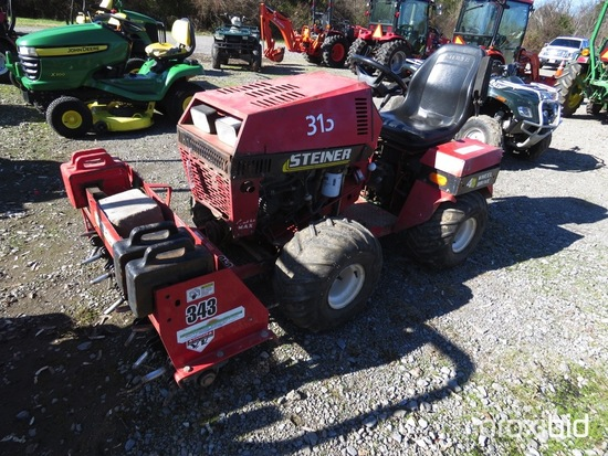 STEINER 430 MAX 4WD LAWN TRACTOR W/ AERATOR