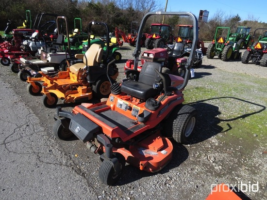 "KUBOTA ZD25 ZERO TURN MOWER DIESEL, ROLL BAR, 60"" DECK, 1291HRS, TAG #8482"