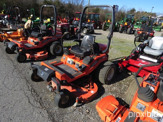 "KUBOTA ZD28 ZERO TURN MOWER 60"" DECK, DIESEL ENGINE, ROPS, SERIAL #11660, 1578HRS, TAG #7870"