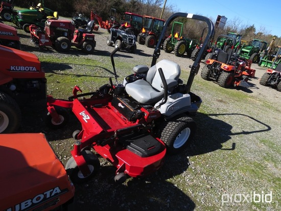 EXMARK LAZER Z ZERO TURN MOWER KOHLER GAS ENGINE, HOURS UNKNOWN