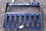 UNUSED SKID STEER QUICK ATTACH FORK FRAME TAG #8539