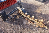SKIDSTEER QUICK ATTACH TRENCHER TAG #3149
