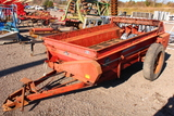 MASSEY FERGUSON 110 MANURE SPREADER PTO DRIVEN, TOP BEATER, TAG #3418