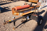 HUSKEE 35TON WOOD SPLITTER BRIGGS & STRATTON ENGINE, TAG #3046