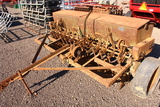 JOHN DEERE PULL TYPE 8FT SEED DRILL TAG #8141