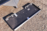 UNUSED SKID STEER QUICK ATTACH PLATE TAG #8476