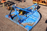 5FT BUSHHOG BRAND ROTARY CUTTER 3PT HITCH, TAG #8862