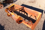 6FT BOX BLADE 3PT HITCH, TAG #8865