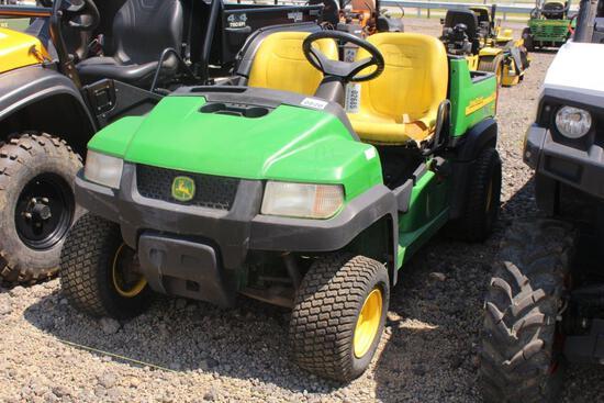 JOHN DEERE GATOR CX 2WD, KAWASAKI GAS ENGINE, 2259 HRS, S# M000CXA017241 TAG # 2685Z