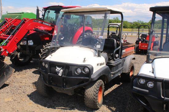 BOBCAT 2200 UTV 2WD, GAS ENGINE, ELECTRIC DUMP BED, 2667 HRS, S# 858335, TAG# 5253