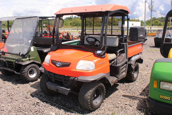 2012 KUBOTA RTV 900 DSL ENG, P.S.,4WD, SHOWING 2440 HRS, S/N # A7019, TAG# 9683