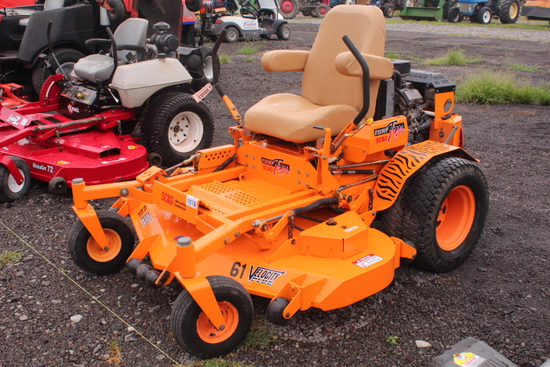 "SCAG TURF TIGER, 61"" CUT"