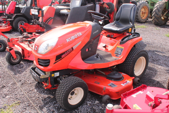 "KUBOTA RIDING MOWER, 54"" DECK"