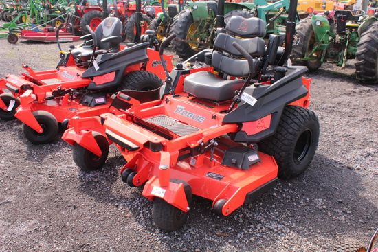 "BAD BOY ROGUE ZERO TURN MOWER, 61""DECK"