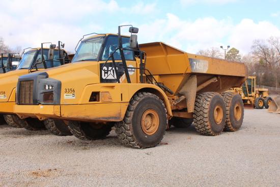 CAT 740B ARTICULATED DUMP