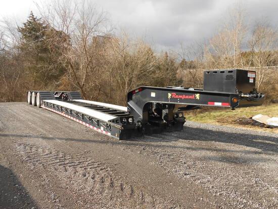 2021 RAMPANT 55TON TRI-AXLE DETACH TRAILER