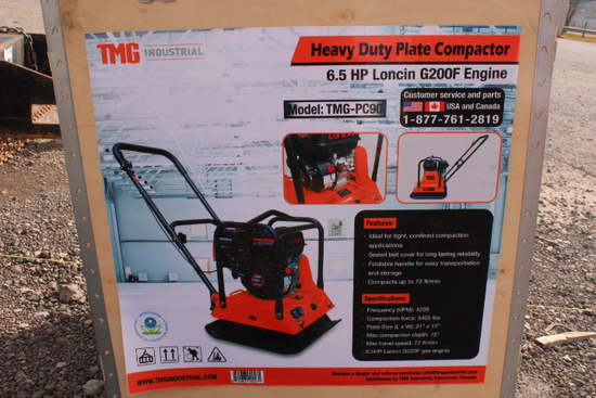 COMPACTOR PLATE PC90