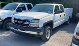 2006 CHEVY 2500HD 2WD CREW CAB SERVICE TRUCK