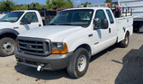 1999 FORD EXT. CAB SERVICE TRUCK