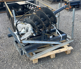 UNUSED JCT SKID STEER AUGER WITH 2 BITS