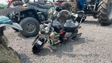 MINI CHOPPER WITH 2 STROKE GAS ENGINE