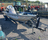 LOWE 17' BASS BOAT WITH TRAILER