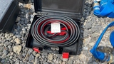 UNUSED 25' HVY. DUTY 1 GAUGE 800AMP BOOSTER CABLES