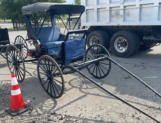 DOCTOR BUGGY WITH 12V LIGHTS AND HYDRAULIC BRAKES