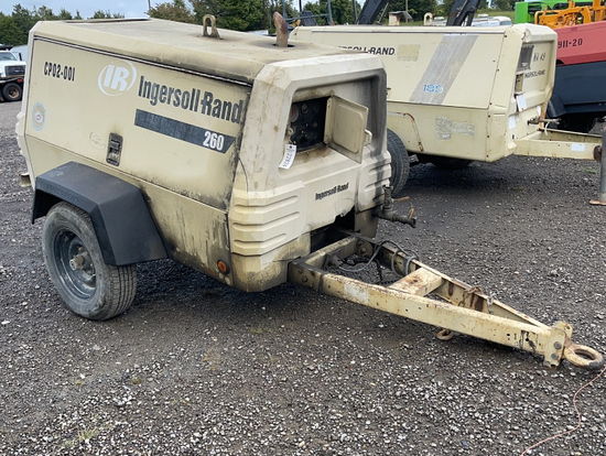 INGERSOLL-RAND 260 TOWABLE AIR COMPRESSOR