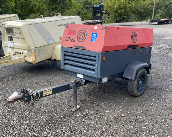 2013 CP CPS185JD TOWABLE AIR COMPRESSOR