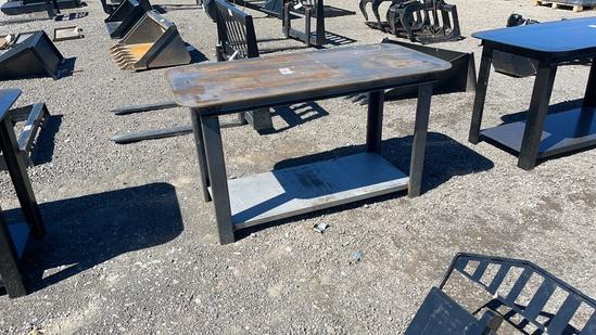 "30""X57"" WELDING TABLE"