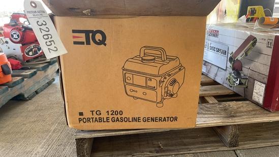 TQ TG1200 PORTABLE GAS GENERATOR