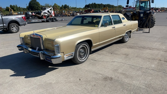 1979 FORD LINCOLN CONTINENTAL TOWN CAR